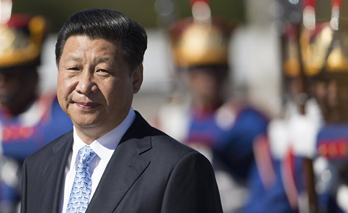 Председатель КНР Си Цзиньпин во время визита в Бразилию
