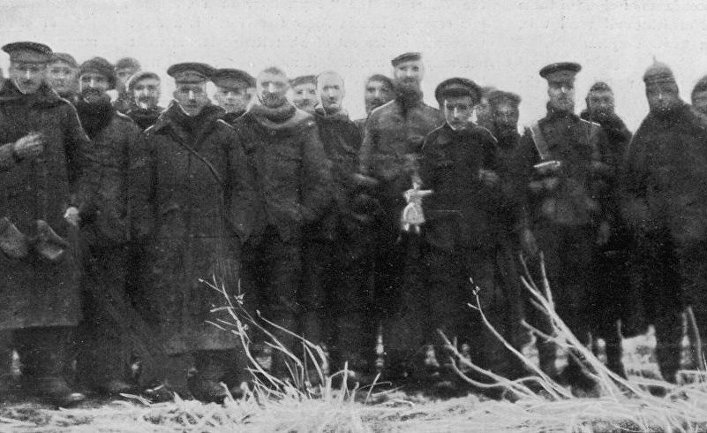 Рождественское перемирие 1914 года