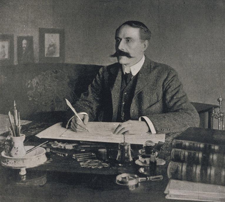 Английский композитор Эдуард Элгар