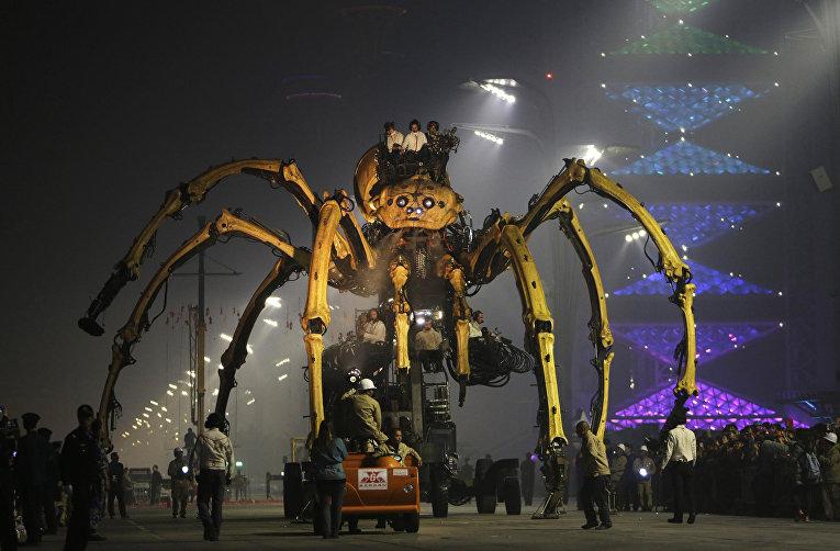 Паук Принцесса в представлении от компании La Machine в Пекине