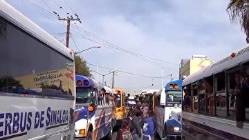 «Караван» мигрантов ускоряет темп