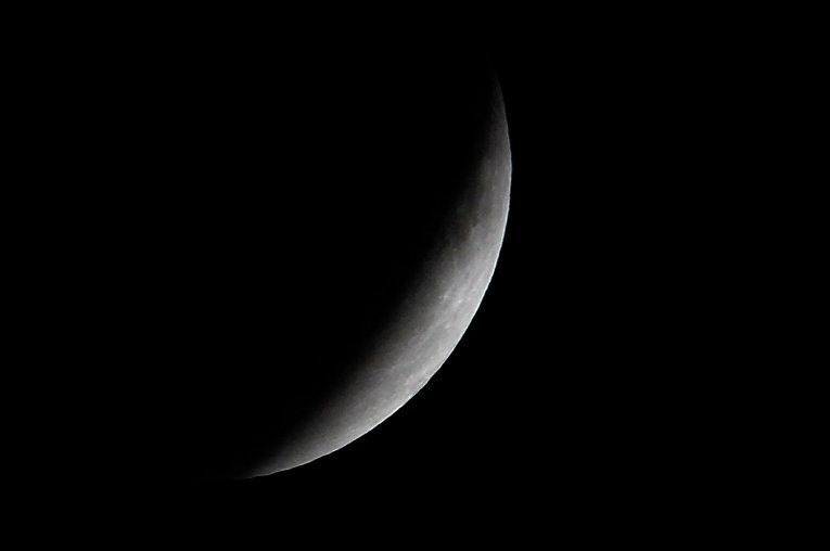 Лунное затмение над Мехико, Мексика