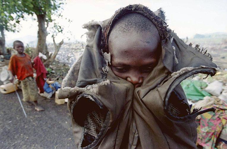 Беженцы из Руанды