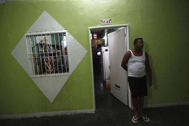 Магазин внутри небоскреба «Башня Давида» в Каракасе