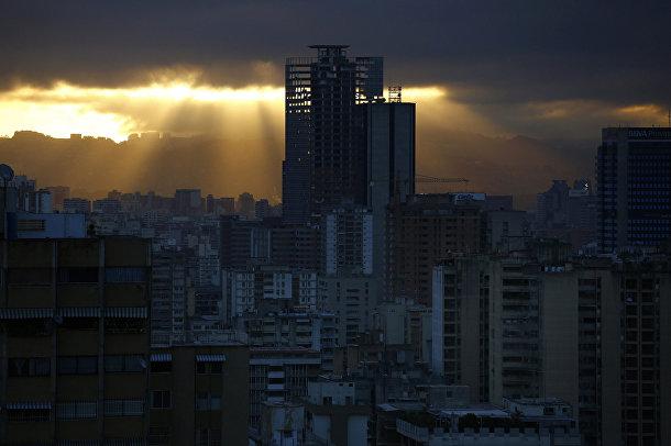 Небоскреб «Башня Давида» в Каракасе