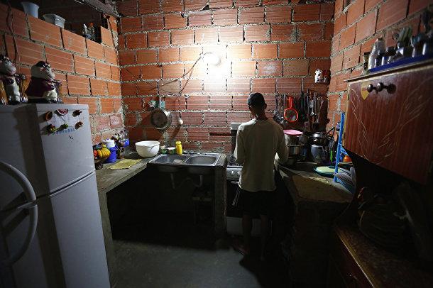 Квартира в небоскребе «Башня Давида» в Каракасе