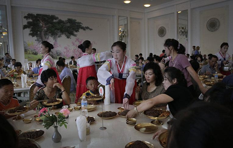 Лапшичная в Пхеньяне