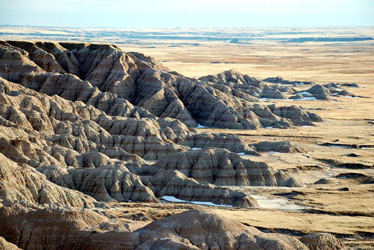 Национальный парк «Бэдлендс», Южная Дакота