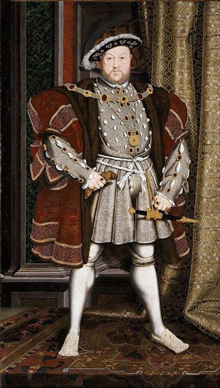 Ганс Гольбейн Младший «Портрет короля Генриха VIII»