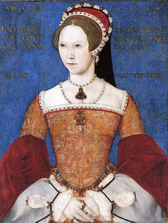 «Мастер Джон». Портрет Марии I Тюдор. 1544 год