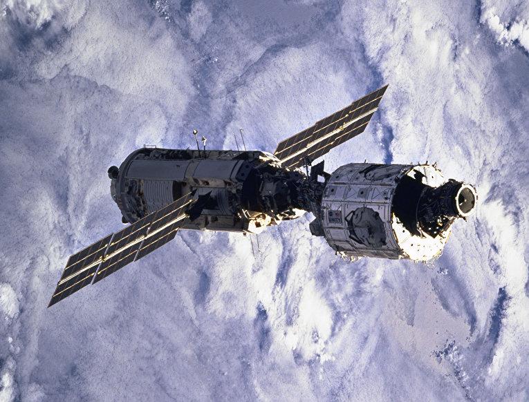 Созданный в России модуль «Заря»