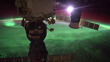Фотография Александра Герста с борта МКС