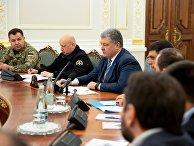 Заседание СНБО Украины