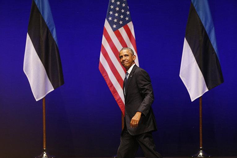 Обама в Таллине