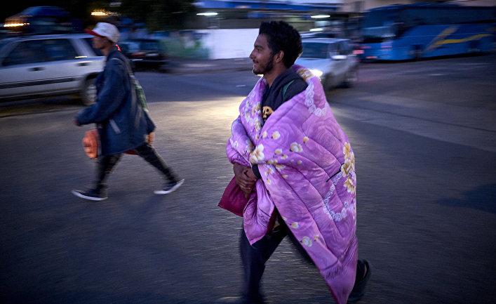 Мигранты в Тихуане