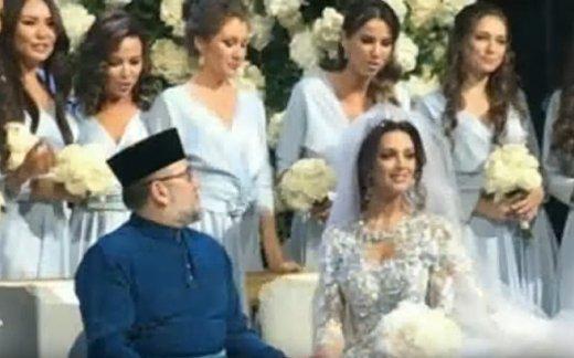 Мисс Москвы стала женой короля