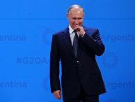 30 ноября 2018. Владимир Путин на саммите G20 в Буэнос-Айресе, Аргентина