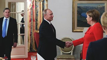Официальный визит президента РФ В. Путина в Аргентину. День второй