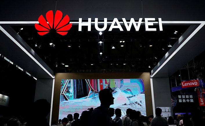 Стенд Huawei на выставке CES Asia 2018 в Шанхае