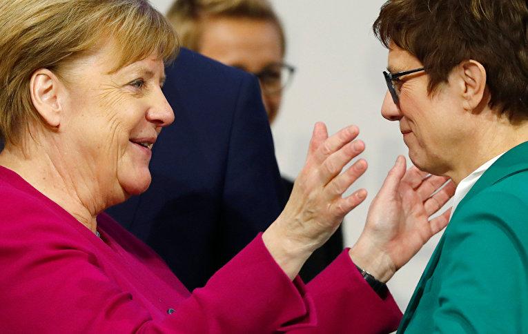 Новый лидер ХДС Аннегрет Крамп-Карренбауэр
