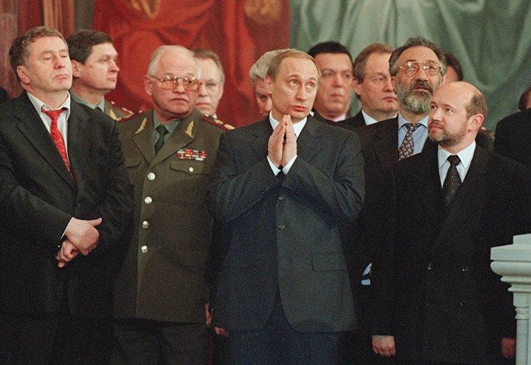 Исполняющий обязанности президента РФ Владимир Путин
