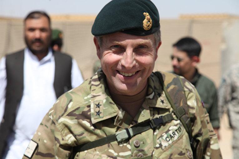 Генерал-майор британской армии Ник Картер, 2010 год