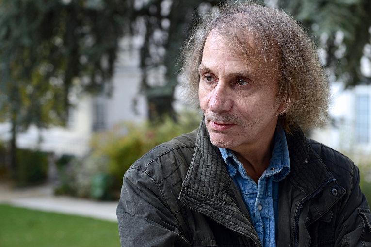 Французский писатель Мишель Уэльбек