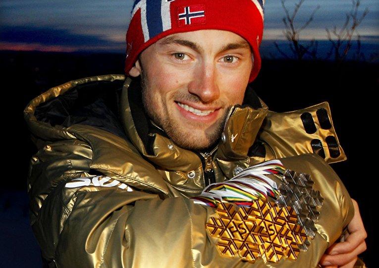 Норвежский лыжник Петтер Нортуг