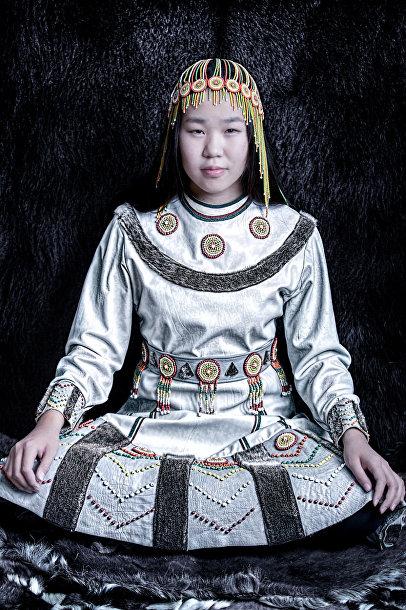 Женщина из народа чукчей