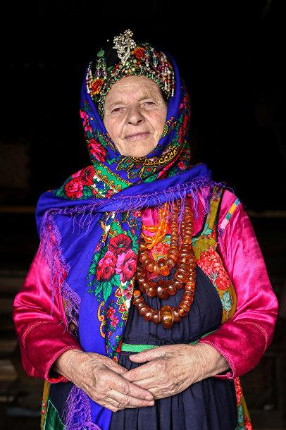 Женщина из семейских старообрядцев