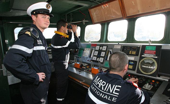 Прибытие отряда боевых кораблей ВМС Францииc с визитом в Балтийск