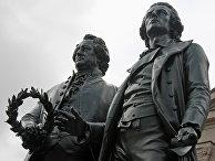 Памятник Гёте и Шиллеру