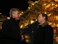 Рабочая поездка премьер-министра РФ Д. Медведева в Ямало-Ненецкий автономный округ