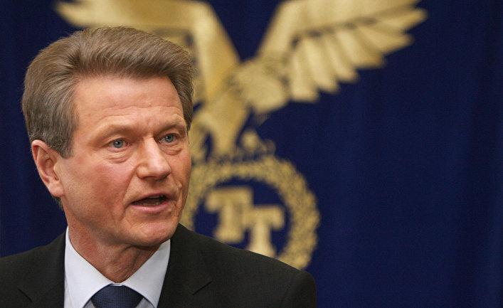 Экс-президент Литвы Роландас Паксас