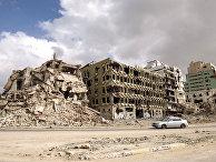 Руины в Бенгази, Ливи