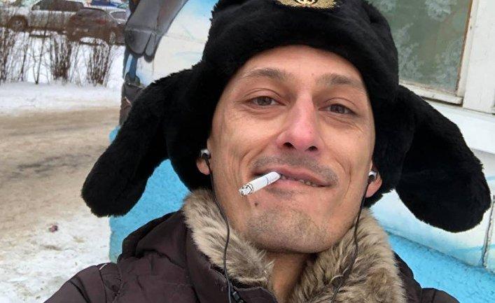Фотограф Дмитрий Марков, фотография из соцсетей