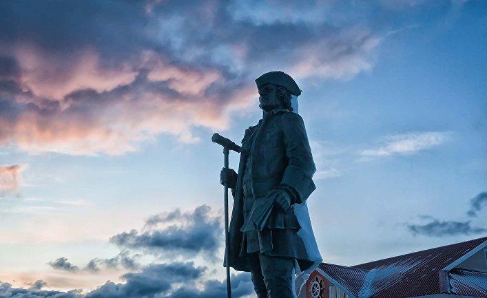 Витус Беринг (скульптор Илья Вьюев)