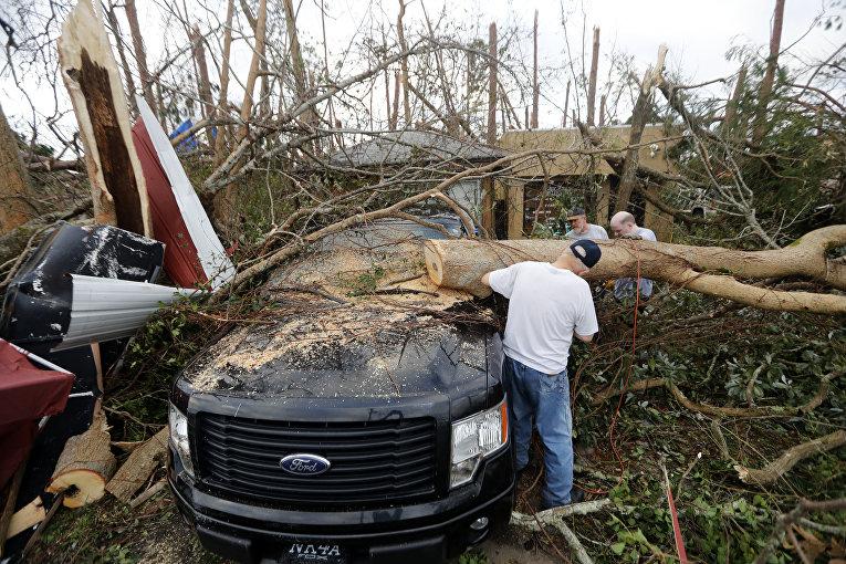 Последствия урагана в Панаме