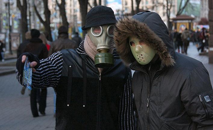 """Меры предосторожности для защиты от вируса """"свиного гриппа"""" в Киеве"""