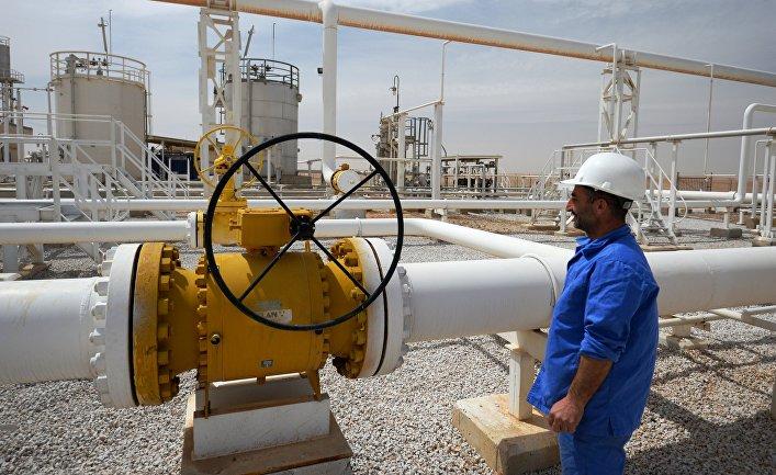 Сирия. Газоперерабатывающий завод в Фурклусе
