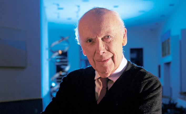 Американский биолог Джеймс Уотсон