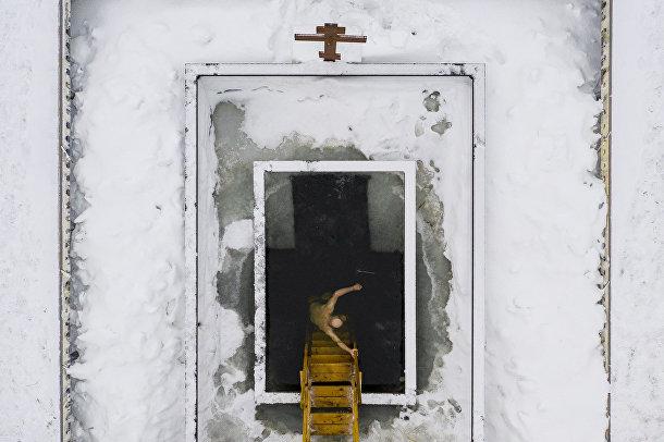 Прорубь в Волоколамске