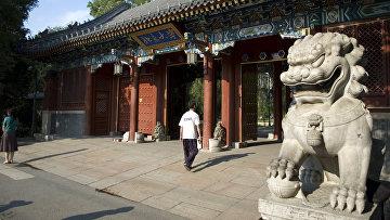 Вход в Пекинский университет