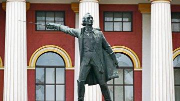 Памятник русского полководца Александра Суворова