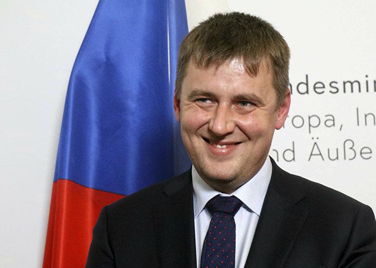 Министр иностранных дел Чехии Томаш Петричек