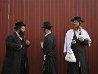 Еврейские паломники в Умани