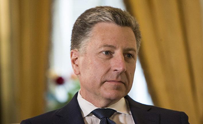 Спецпредставитель Госдепартамента США по Украине Курт Волкер