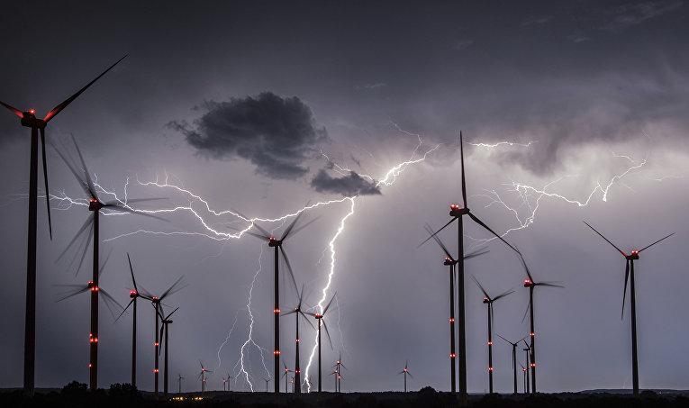 Ветряные электростанции в Германии