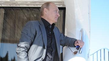 Посещение Владимиром Путиным Валаамского монастыря