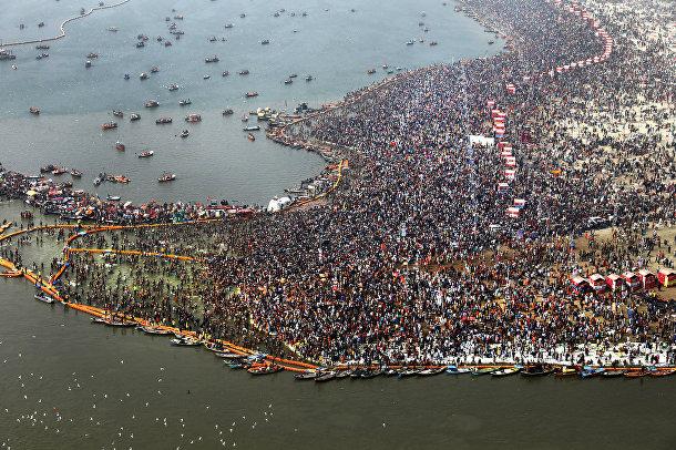 Индуистский праздник Кумбха-Мела